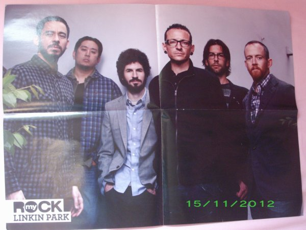 Poster Linkin Park / Betraying the martyrs
