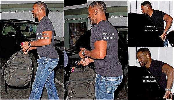30/03/2014 : Will Smith à été aperçus allant dîner au restaurant « Giorgio Baldi » à Santa Monica en Californie.