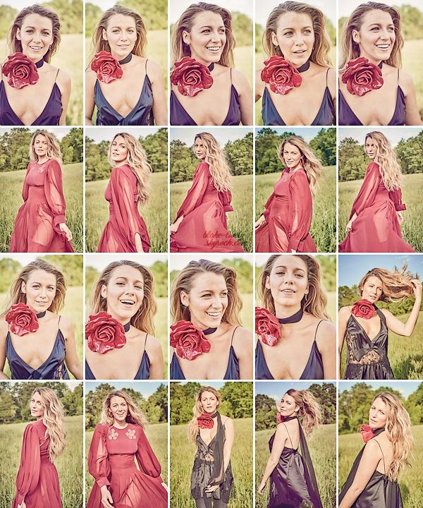 """. • Découvrez de nombreux nouveaux clichés de Blake datant de 2017 pour le magasine anglais ▬ """"Glamour"""" :  Beaucoup de photos sorties récemment et je dois dire que je suis absolument fan de toutes, la belle y est magnifique !! Gros top pour moi donc."""