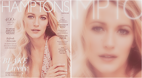 . •  COVER ─ HAMPTONS MAGAZINE BY GUY AROCH ─ JULY 2016
