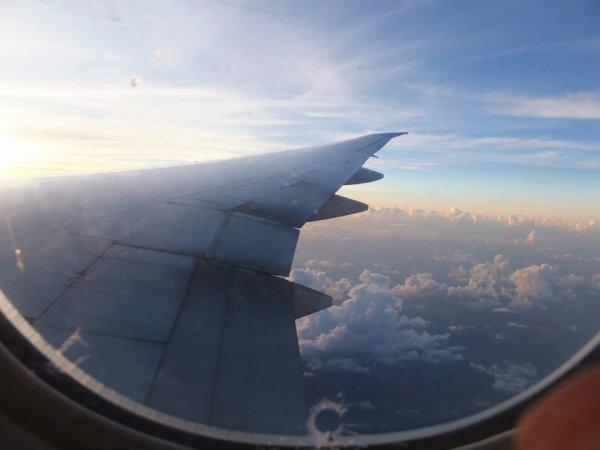 A Bord du Boeing 777-300 er D'AirFrance Pour Mon Vol Retour a Destination De Guadeloupe Pole-Caraibes .