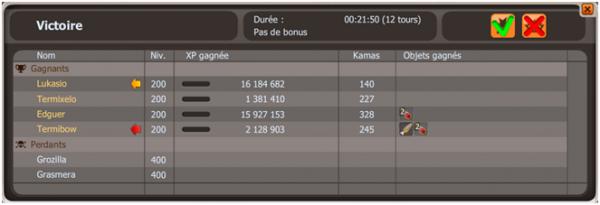 Compositions d'Hyrkul pour le Goultarminator 2014, Succès Zombie sur G&G normaux et Succès Collant sur Glours