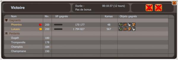 Succès Duo sur Ougah + Victoire sur Mékamouth à la base des justiciers
