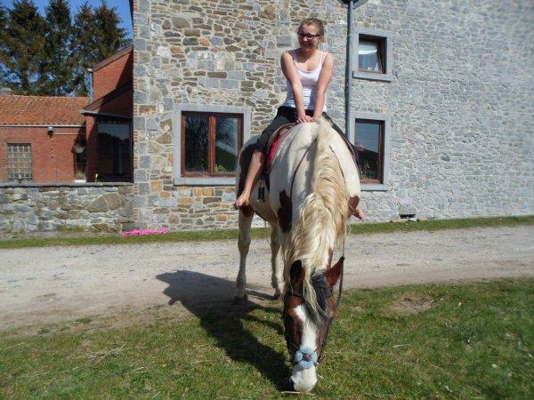 L'équitation, c'est le seul sport individuel qu se pratique à deux (a)