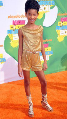 Willow Smith aux Kid's Choice Awards