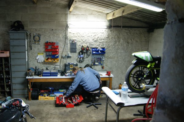 Amélioration du garage!