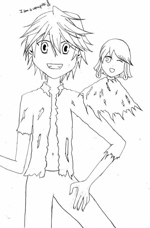 Oz (Pandora hearts) et Sû (shugo chara)