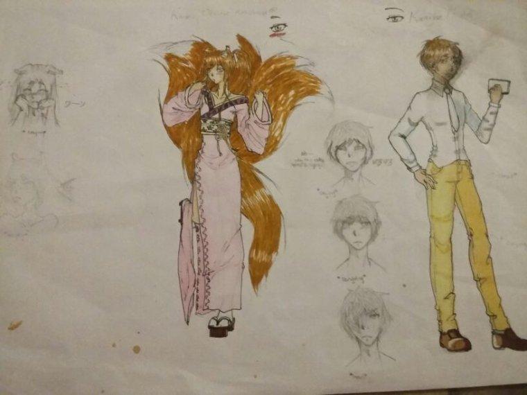 Kaoru et Miuto, ou comment avoir bieeeeen le seum (;ω;)