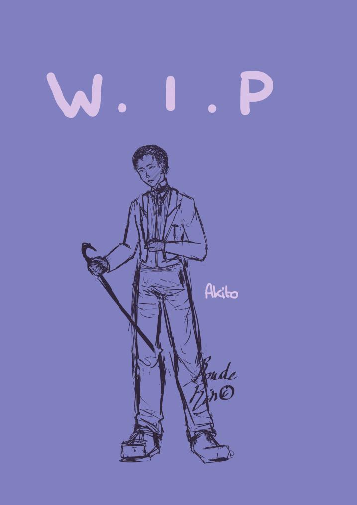 WIP fever (parce que y'en a en plus j'ai trop progressé pour continuer ;w;)