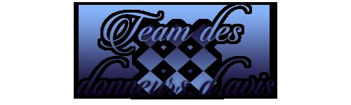 ♦ Team des donneurs d'avis ♦