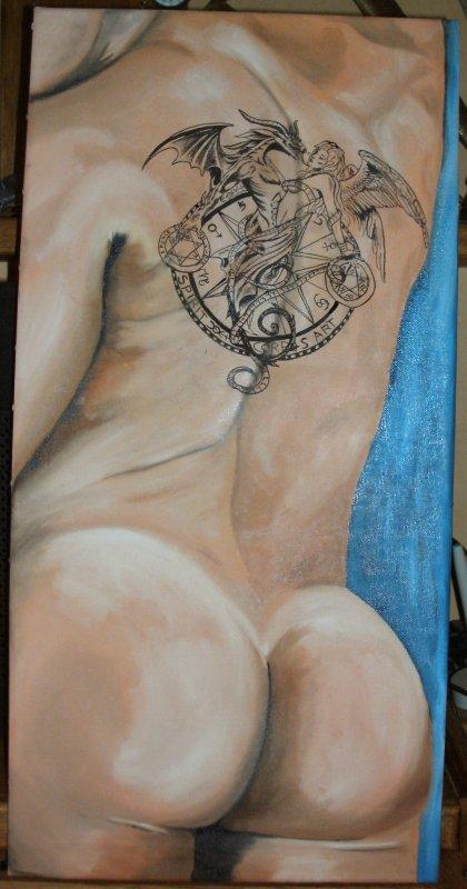 tatouage sans douleur
