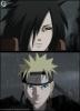 Madara et Naruto(Moi)