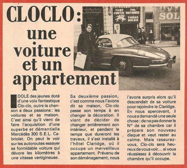 Article : Coupure De Presse - CLAUDE FRANCOIS