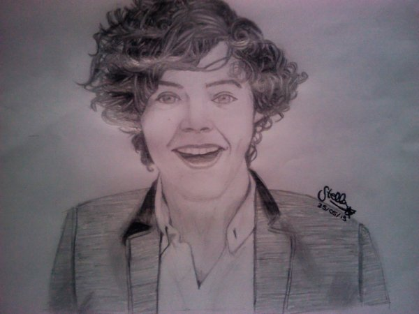 Portrait Harry Styles