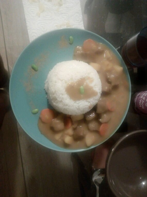 Mon curry japonais