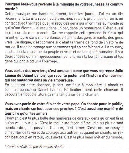"""Isabelle Boulay: Interview pour """"Les Grands Espaces"""" !"""