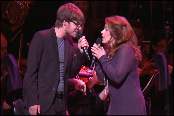 Vincent Vallières et Isabelle Boulay : un concert improbable...