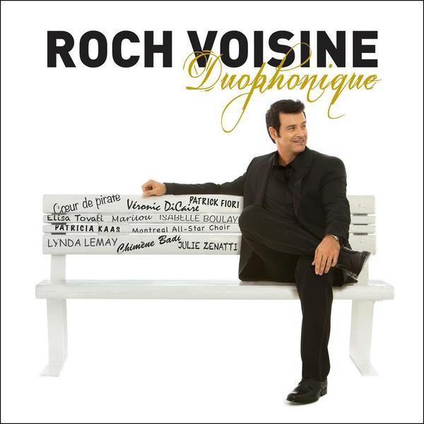 """Isabelle en duo avec Roch Voisine sur l'album """"Duophonique"""" !!!"""