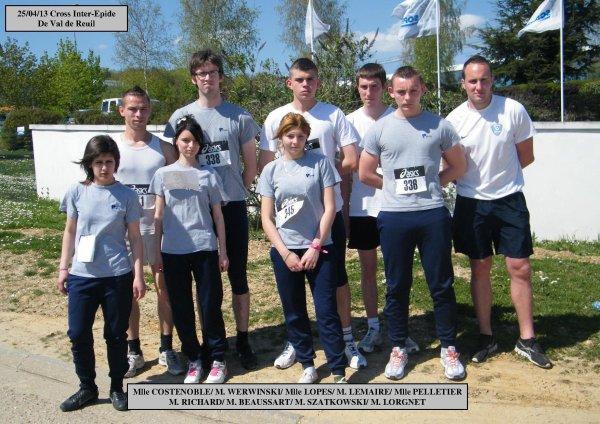 Cross Inter-Epide de Val de Reuil 25/04/13
