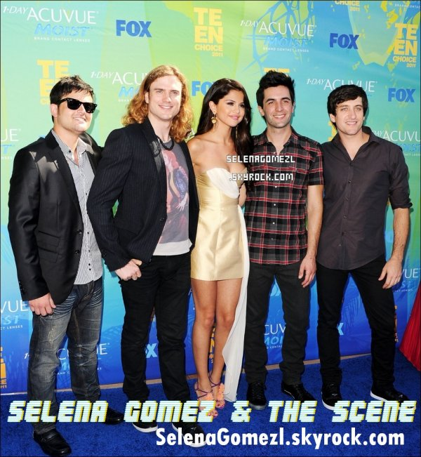 . Selena Gomez au Teen Choice Awards 2011. .