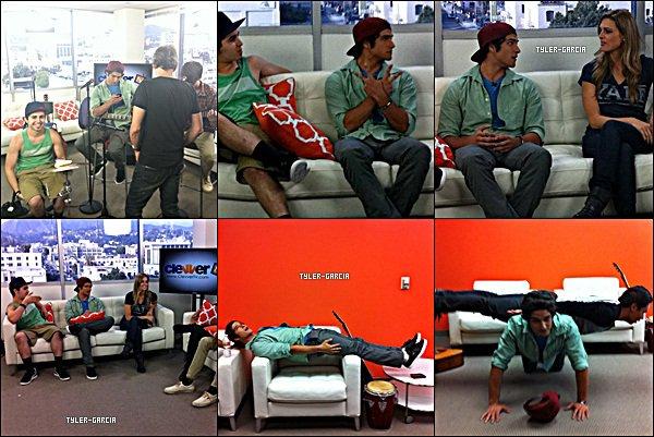 . Tyler et son groupe ont fait une interview et une performance pour Clevver Tv     .