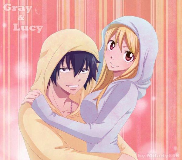 """Mon """"couple"""" favori dans Fairy Tail"""