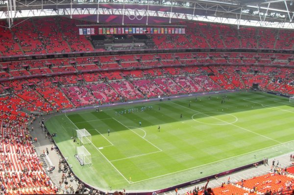 Finale à Wembley.