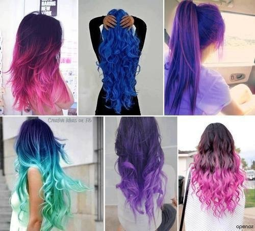Cheveux colorer !!!!!!