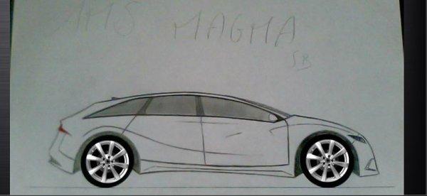 AMS Magma Sportback           (désolé pour la qualité mais c'est photographié)
