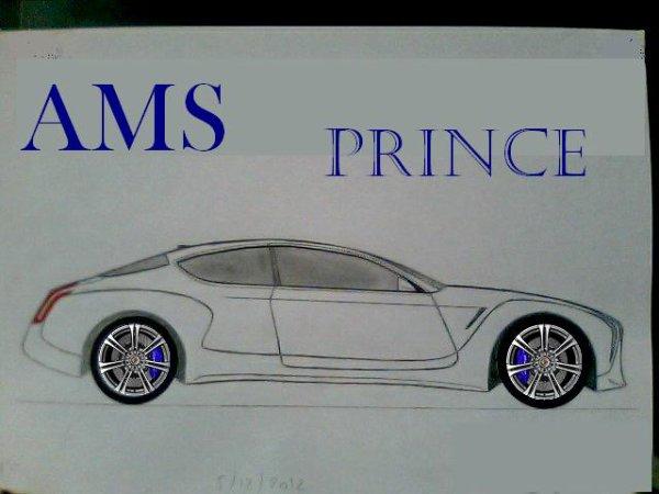 AMS Prince (prononcer à l'anglaise) Variante coupé de la Queen