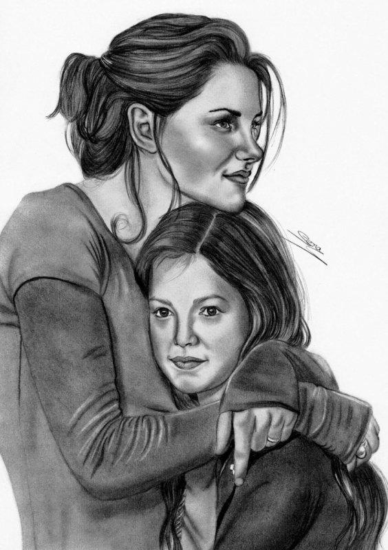 Kristen Stewart et Mackenzie Foy