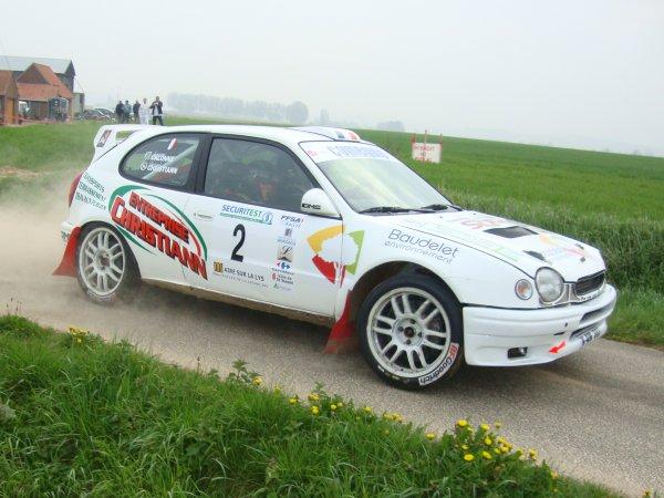 Rallye de la Lys Mc Do 2011
