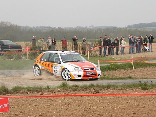 Explications des groupes en rallye et classification