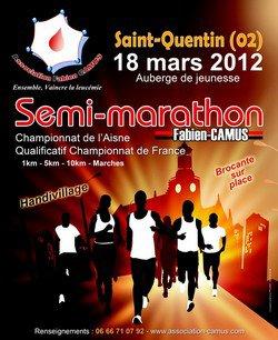 semi marathon FABIEN CAMUS