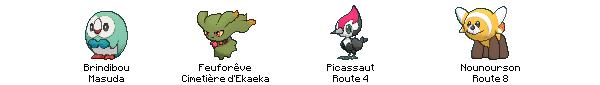 ► Shasses actuelles - Pokémon Moon ◄