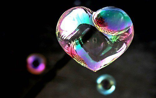 Bubbles are made with love...