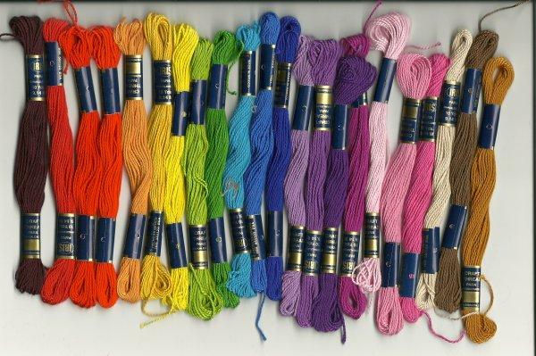 Mes couleurs :)