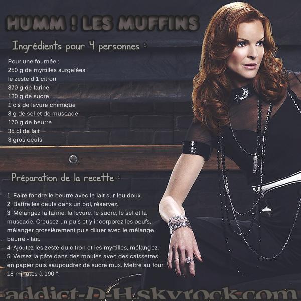 Desperate Housewives Les muffilns de Bree Van De Kamp.