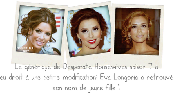 Desperate Housewives saison 7 ... bientôt sur Canal +