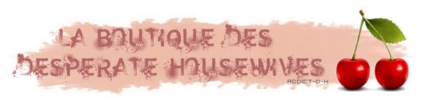 Article : Boutique + Jeu de société des Desperate Housewives.
