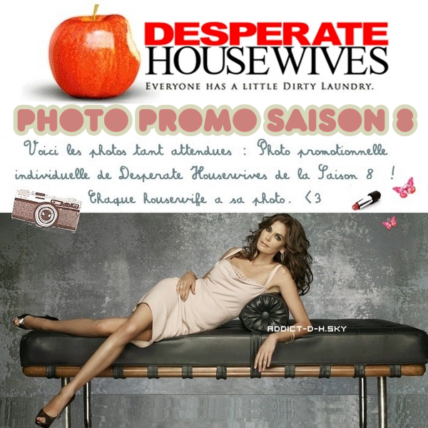 Desperate Housewives Photos personnelles + photo de groupe saison 8