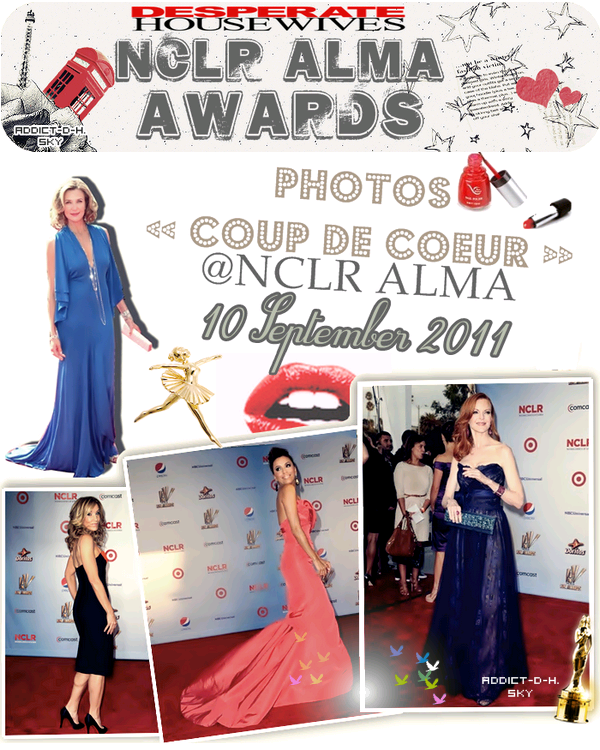Desperate Housewives 2011 Nclr Alma Awards ÉNORME coup ♥