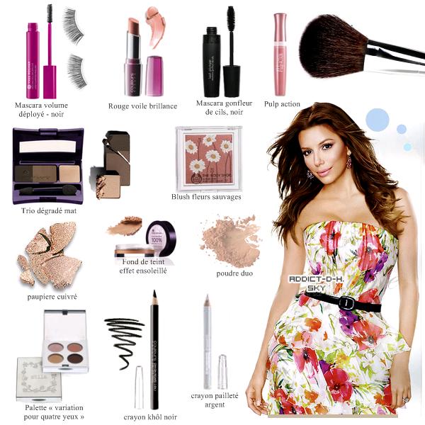 Eva Longoria Make-up : Je suis complètement amoureuse de son maquillage