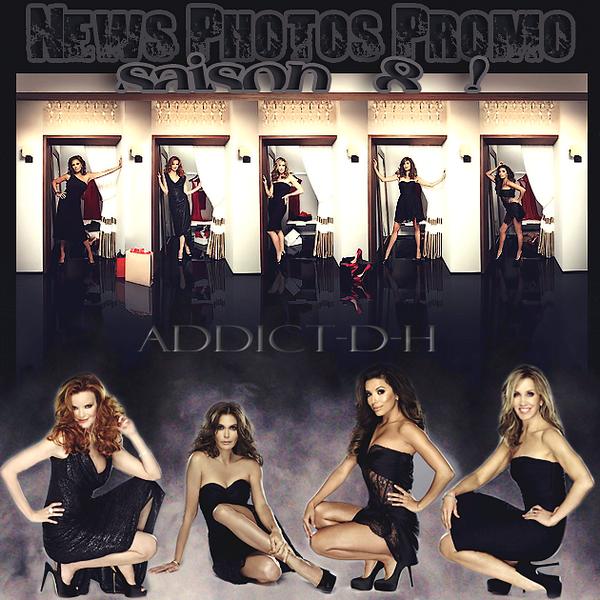 Desperate Housewives De nouvelles photos promos pour la saison 8 viennent de sortir et elles sont sublimes ♥ !
