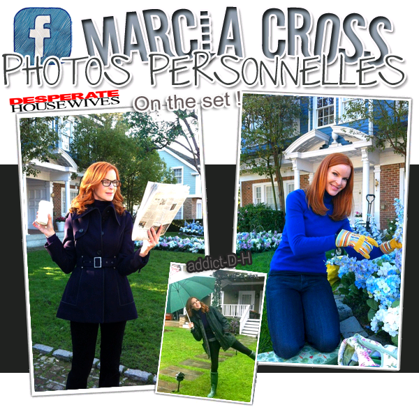 "Marcia Cross "" Photos Personnelles """