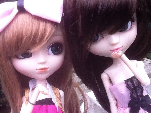 Rencontre pullipienne avec ma meilleure amie ^^