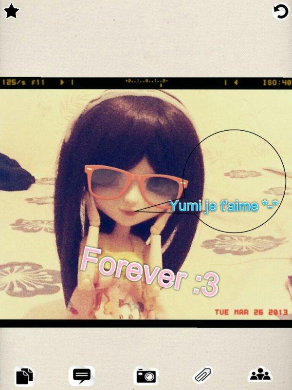 entre Emy et Yumi C'est juste une Histoire d'amitié