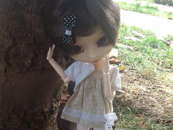 Seance photo dans le jardin =)