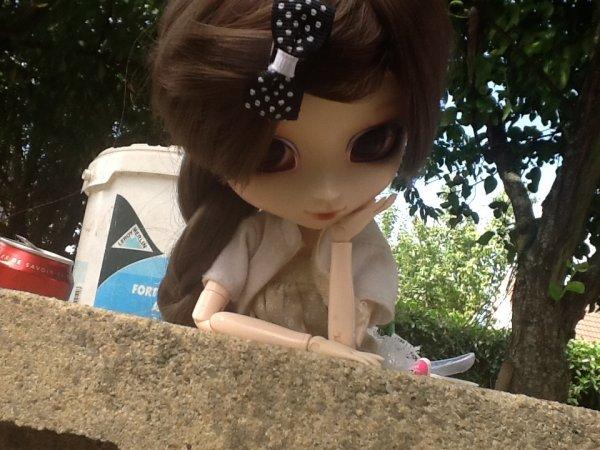 Séance photo dans le jardin =) (2)