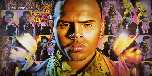 Chris Brown Scores his first #1 album with F.A.M.E.